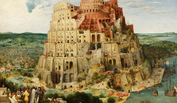 Pieter Bruegel the Elder - The Tower of Babel - Vienna