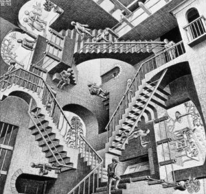 Copia di Relativity 1953 Lithograph