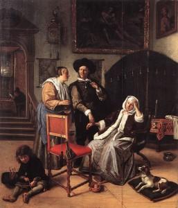JanSteen-DoctorsVisit1658-1662
