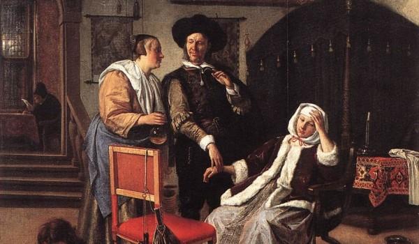 Jan Steen - Doctors Visit