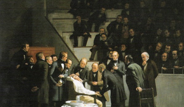 Robert C. Hinckley - Prima anestesia con etere