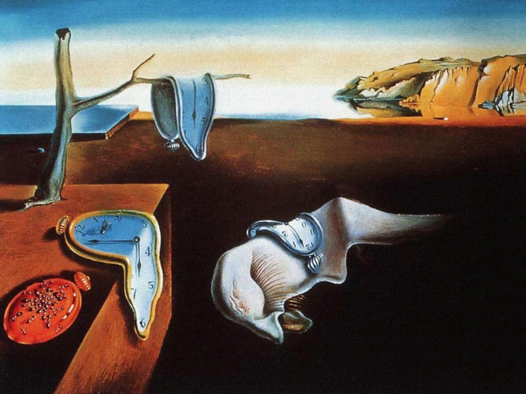 Persistence of memory - Salvador Dalì