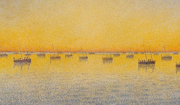 Setting Sun - Paul Signac