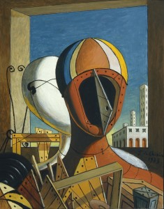 Giorgio-de-Chirico-Le-maschere-1959-oil-on-canvas-cm-505x40