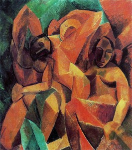 Pablo Picasso - Tres mujeres