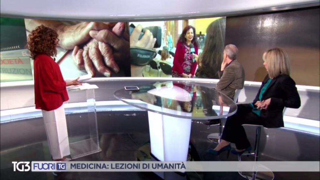 Medicina: lezioni di umanità – Intervista a Maria Giulia Marini, Rai3 FuoriTG