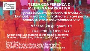 La diffusione della Medicina Narrativa oltreoceano: Terza Conferenza in Cile