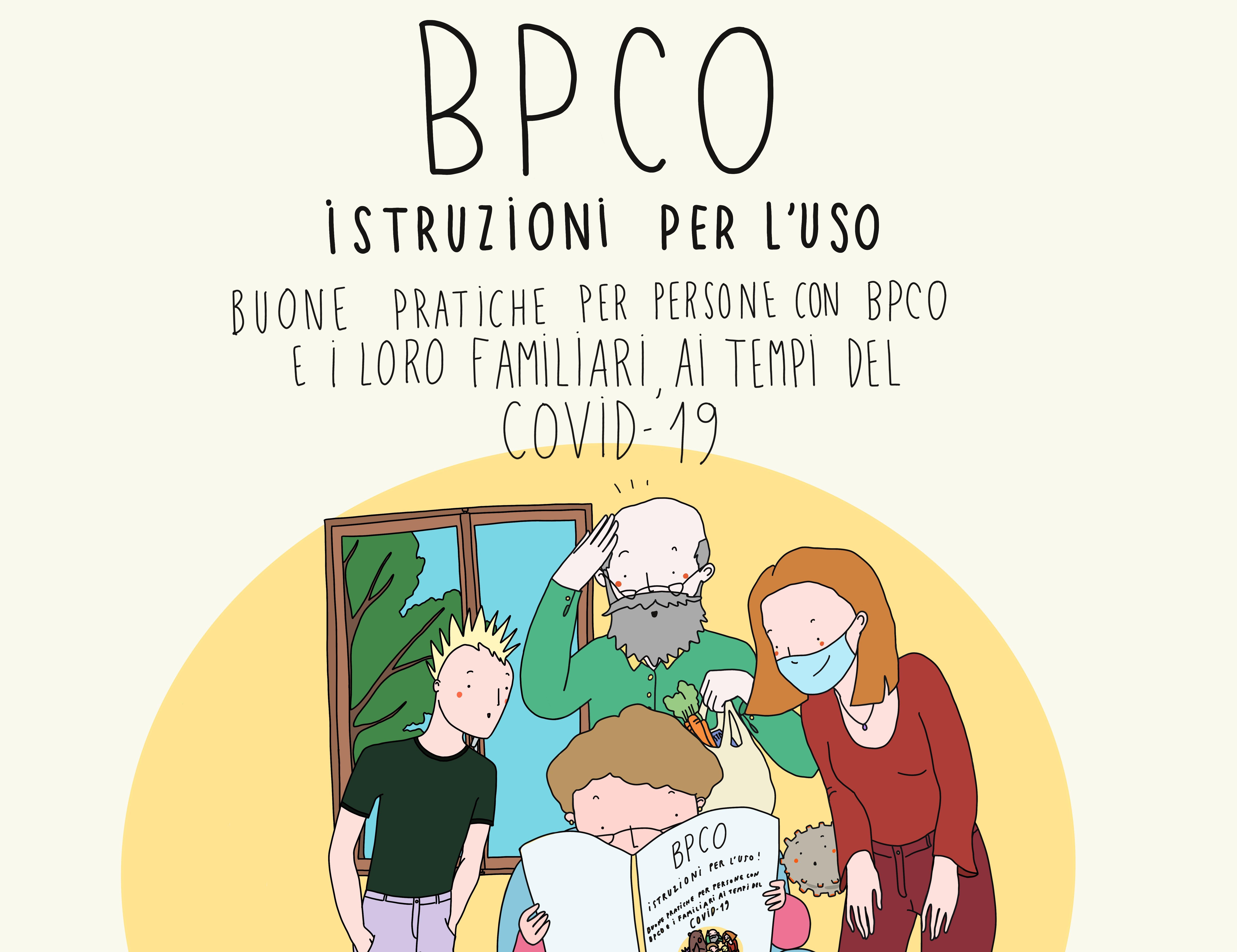 BPCO ISTRUZIONI PER L'USO: BUONE PRATICHE PER PERSONE CON BPCO E I LORO FAMILIARI AI TEMPI DEL COVID-19