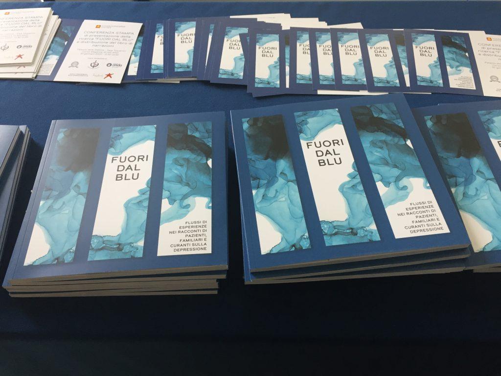 """Pubblicato il libro """"Fuori dal blu: Flussi di esperienze nei racconti di pazienti, familiari e curanti sulla Depressione"""""""