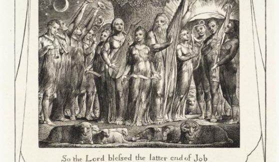 Medicine and poetry - Images by William Blake