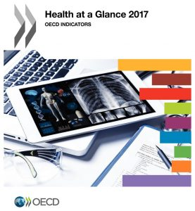 Socio-demographic data of the health sector in the World to know, even when applying narrative medicine: source, OECD official documents