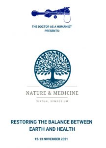 RESTORING THE BALANCE BETWEEN EARTH AND HEALTH – ONLINE INTERNATIONAL SYMPOSIUM