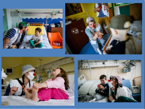 Smiling in the hospital: interview with Rodrigo Morganti and Debora Caloni pf the Doctor Smile onlus