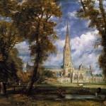 La cattedrale di Salisbury di J. Constable