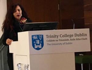 Maria Giulia Marini at the Trinity College