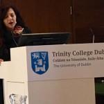 Maria Giulia Marini al Trinity College