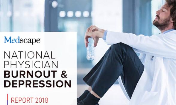 Il report nazionale di Medscape 2018 sulla depressione e il burnout dei medici