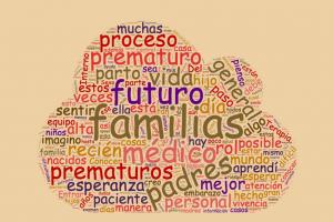 word cloud sulle parole più frequenti degli studenti che hanno scritto le narrazioni.